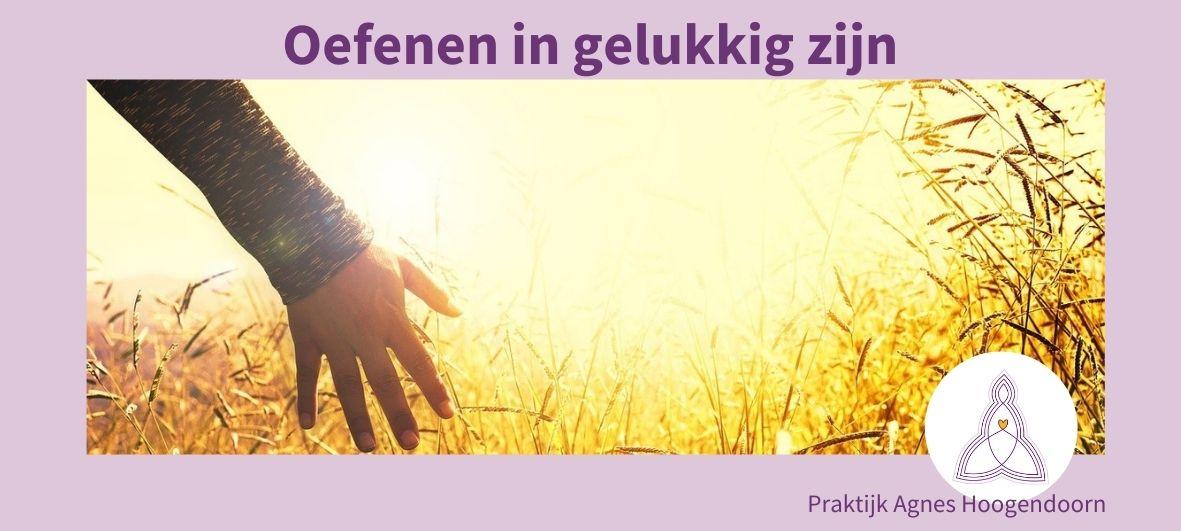 Agnes Hoogendoorn - Gelukkig zijn - meditatie